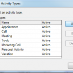 Add a Custom Activity Type